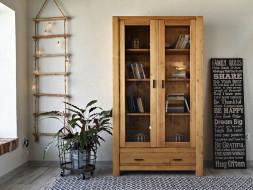 dřevěné knihovny