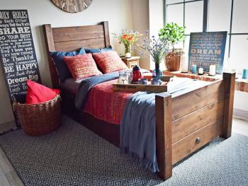 łóżko do pokoju młodzieżowego
