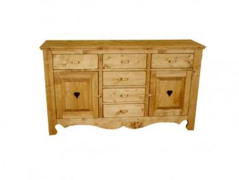 Dresser ze smrkového dřeva Mexicana 10