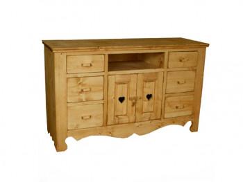 Dresser ze smrkového dřeva Mexicana 12