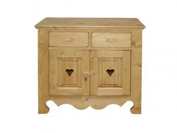 Dresser ze smrkového dřeva Mexicana 1