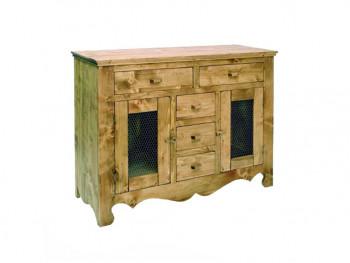 Dresser ze smrkového dřeva Mexicana 4 Bis