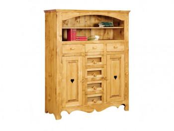 Dresser ze smrkového dřeva Mexicana 5