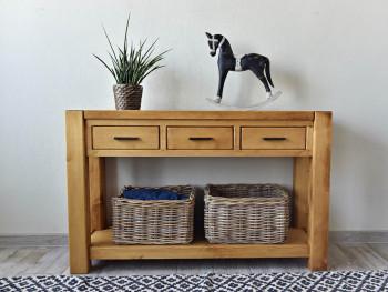 konzole, dřevěný toaletní stolek do ložnice