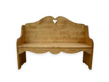 Lavička ze smrkového dřeva Mexicana 2