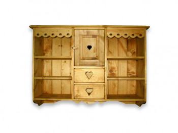 Závěsná skříň ze smrkového dřeva Mexicana 4