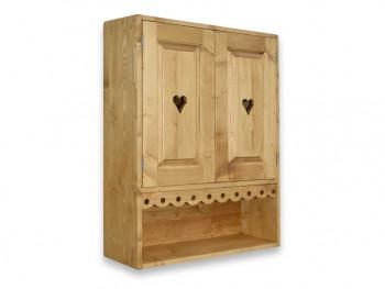 Závěsná skříň ze smrkového dřeva Mexicana 5