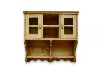 Závěsná skříň ze smrkového dřeva Mexicana 7