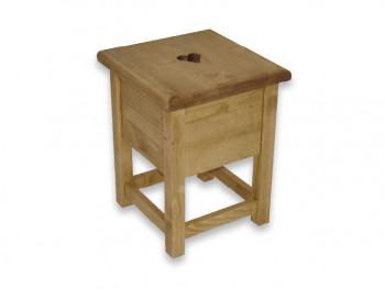 Stolička ze smrkového dřeva Mexicana 2