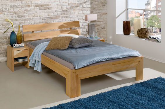 Łóżka bukowe