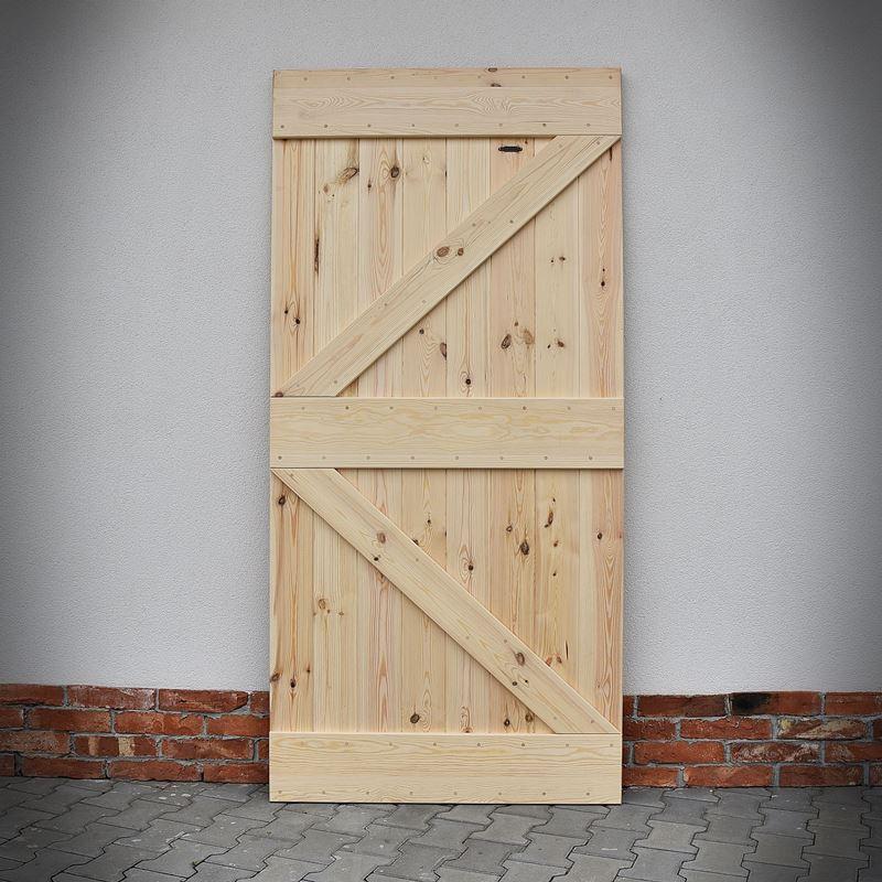 Borovicové dveře FABRIC