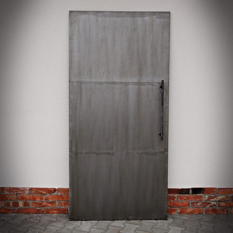 Kovové dveře INDUSTRIAL