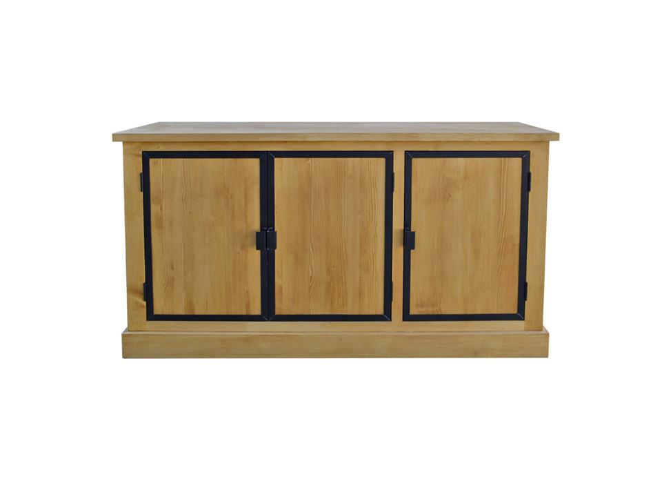 Dřevěná smrková komoda