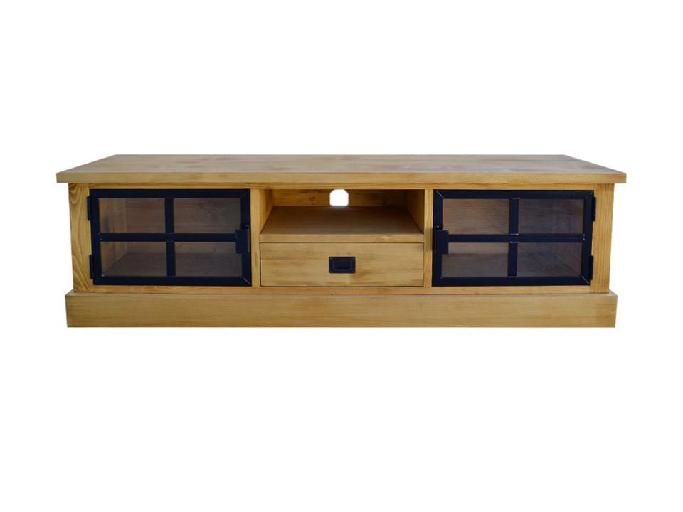 Dřevěná TV skříňka