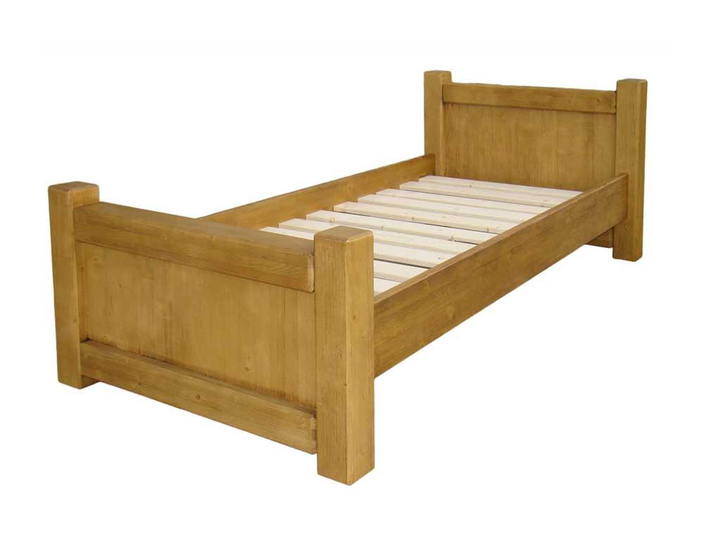 Smrková postel Vintage 90 x 200