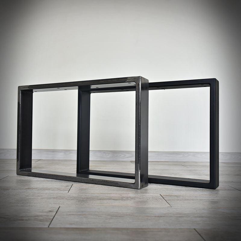 Industriální podnož ke stolové desce, KWADRO LOFT 60 x 40 cm
