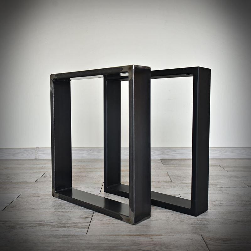 Industriální podnož ke stolové desce, KWADRO LOFT 40 x 45 cm