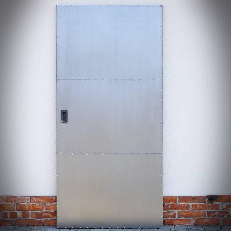 Ocelové dveře INDUSTRIAL DUO, oboustranné