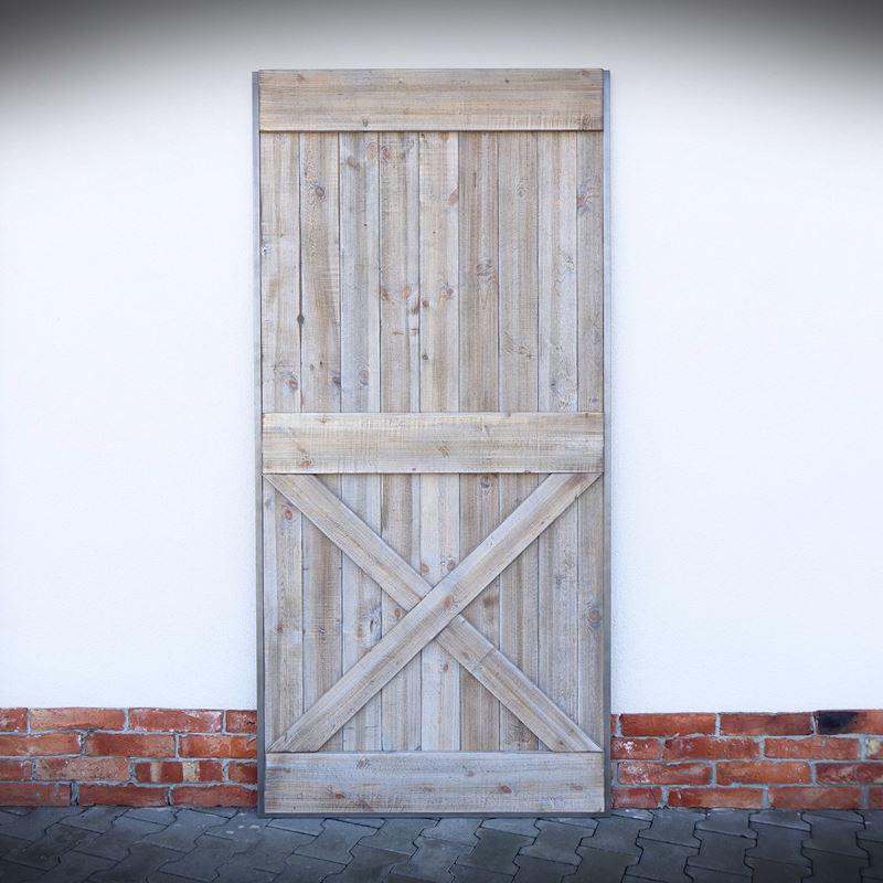 Dveře v ocelovém rámu VILLAGE