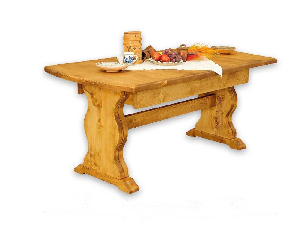 Stół rozkładany z drewna świerkowego Mexicana 3