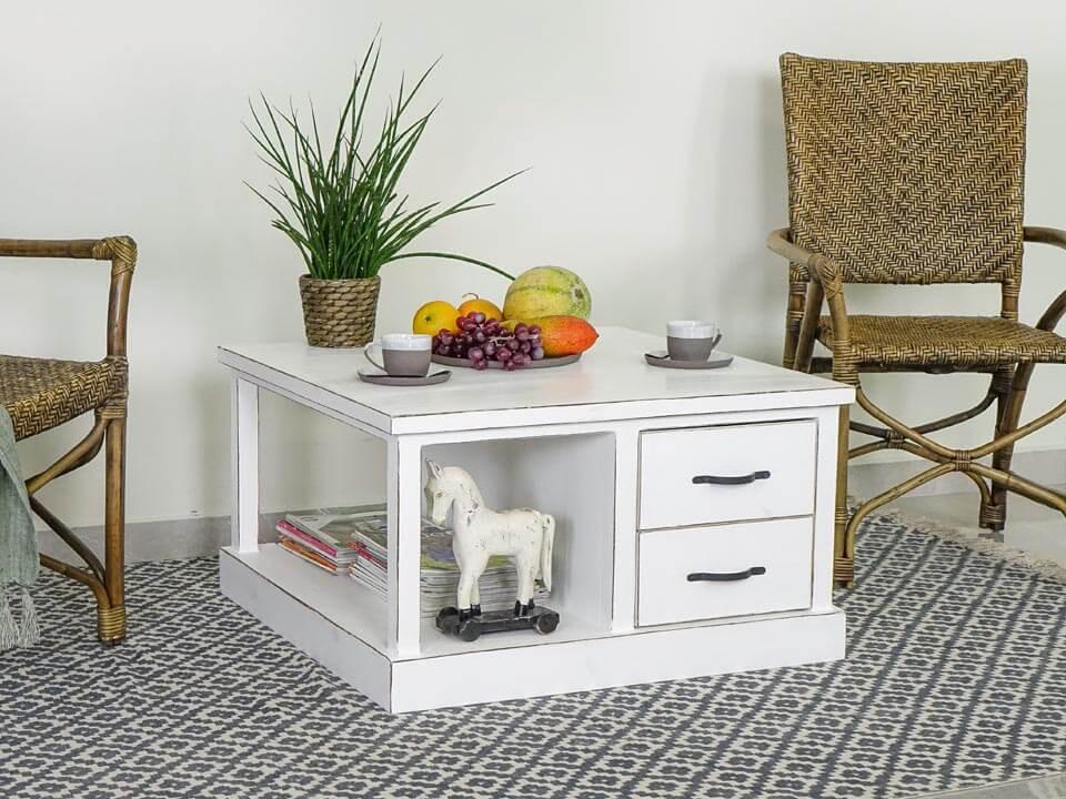 Borovicový konferenční stolek Farmhouse