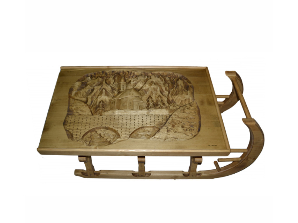 Smrkový konferenční stolek Jagna 1