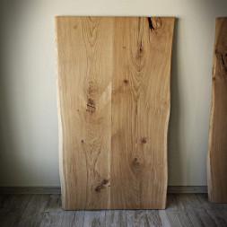 Dubová stolní deska ROMANTEKA - Olej natural 80x120 cm