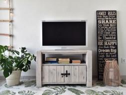 Smrková TV skříňka