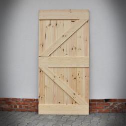 Borovicové dveře 2Z