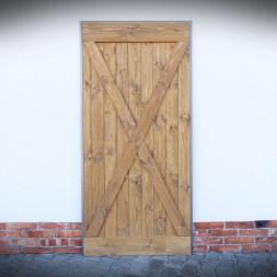 Dveře v ocelovém rámu MASSIVE