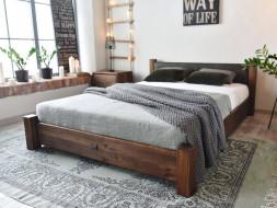 Borovicová postel Rustyk / Ziemowit 180