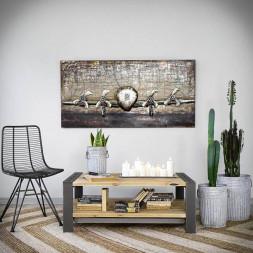 Konferenční stolek Factory-borovice
