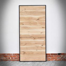 Dubové dveře v ocelovém rámu METALDESK
