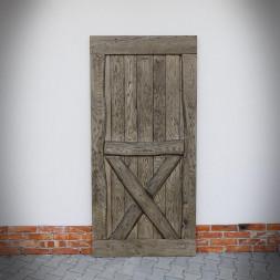 Dubové dveře BARN