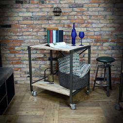 Pojízdný regál / stolek