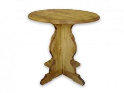 Smrkový kulatý stolek Mexicana 8