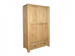 Dvoudveřová dřevěná skříň