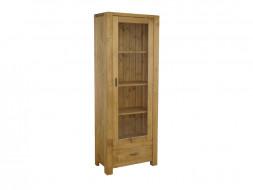 Jednodveřová dřevěná skříň