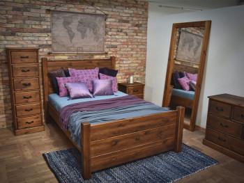 Dřevěná postel Dobromir 180