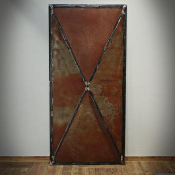 Plechové dveře RUSTY METAL
