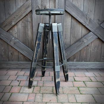Barová židle Lofter Black