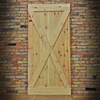 Borovicové dveře X