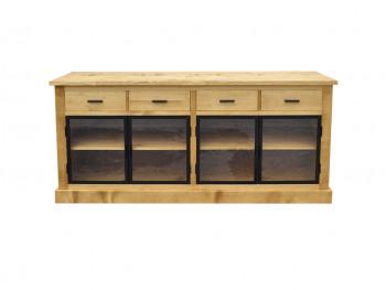 Dřevěná smrková komoda 2