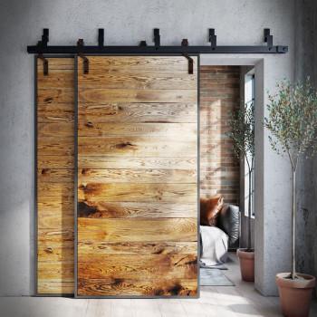 industriální posuvné dveře