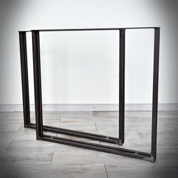 Industriální podnož ke stolové desce, KWADRO LOFT 80 x 71 cm