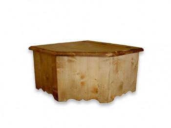 Rohová truhla ze srmkového dřeva Mexicana 1