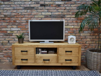 szafka RTV drewniana