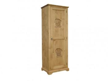 Smrková jednodveřová skříň Jagna 3