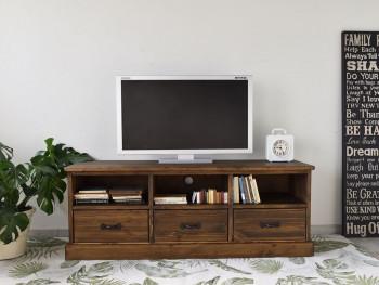 Borovicový TV stolek Rustyk 1