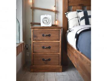 Dřevěný noční stolek